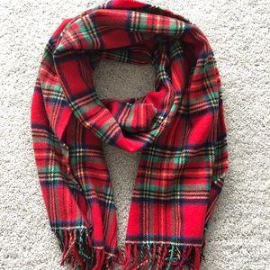 NWOT Jcrew Tartan Wool Scarf